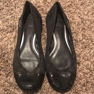 Coach flats with sequin detail size 9